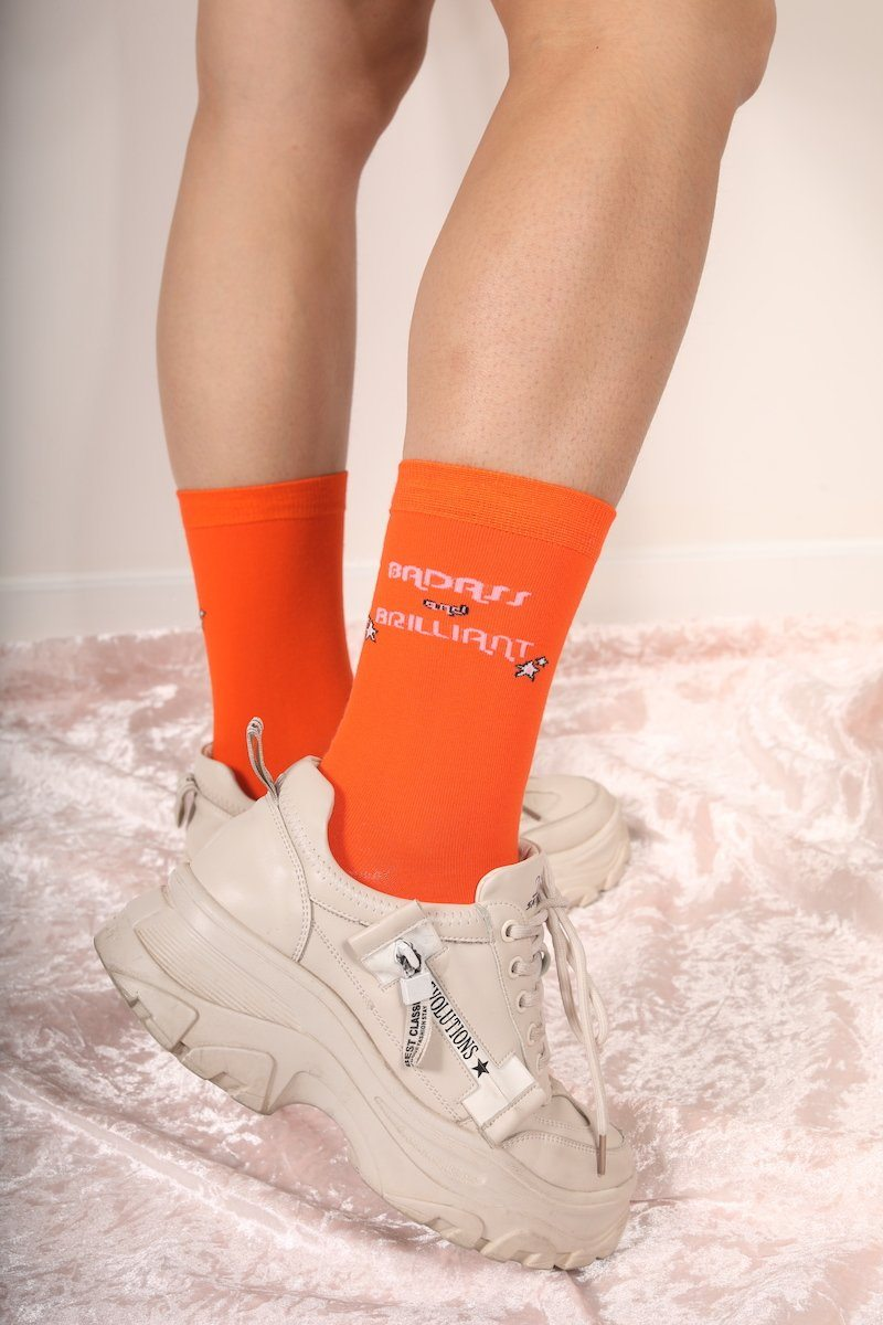 Badass & Brilliant Socks Socks Mulberry & Grand