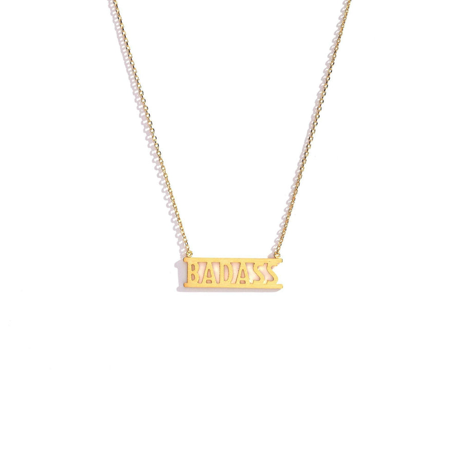 Badass Charm Necklace, Charm Necklaces - Mulberry & Grand