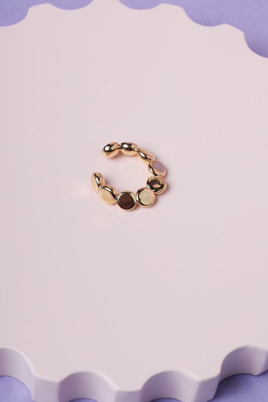 Bauble Ear Cuff Earrings Mulberry & Grand Gold