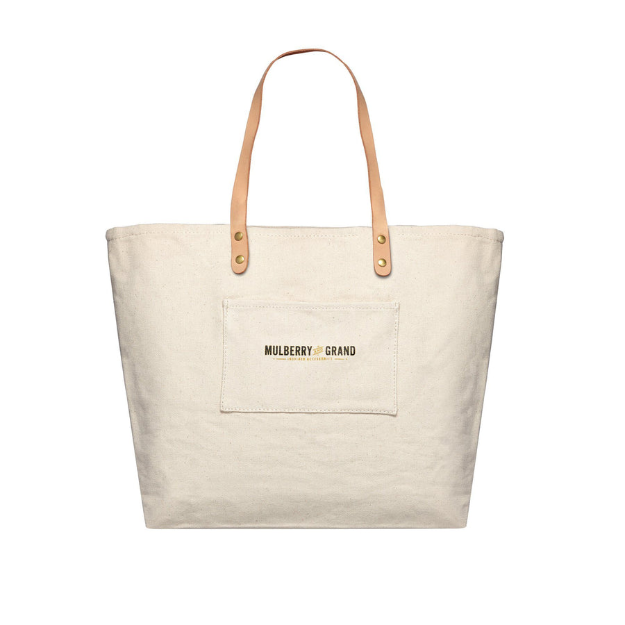 Be Fucking Nice Canvas Tote Bag, Canvas Tote Bag - Mulberry & Grand