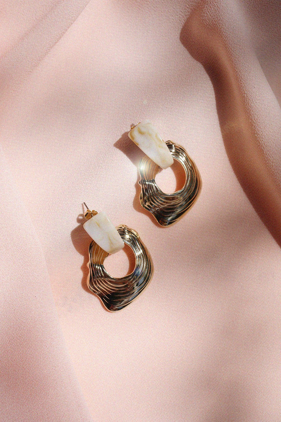 Ciarra Hammered Earrings