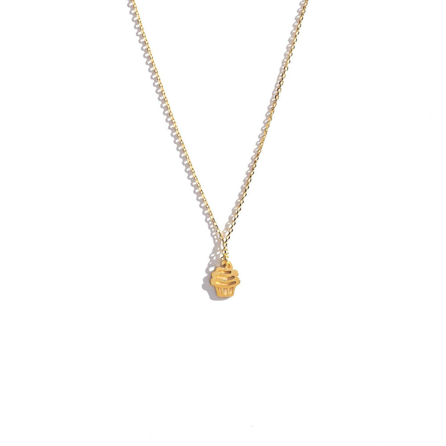 Cupcake Charm Necklace, Charm Necklaces - Mulberry & Grand