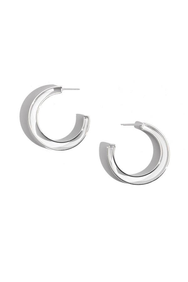Double Band Hoop Earrings