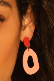 Frankie Drop Earrings - Mulberry and Grand