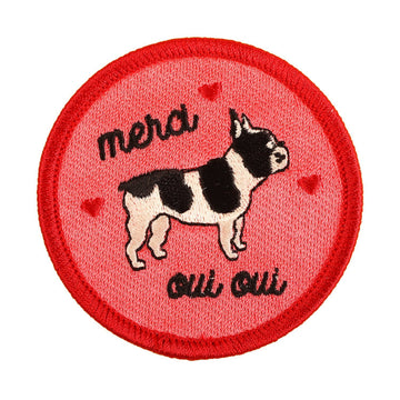 Frenchie Patch Oui Oui
