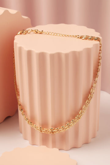 Gold Link Necklace Necklace Mulberry & Grand Default