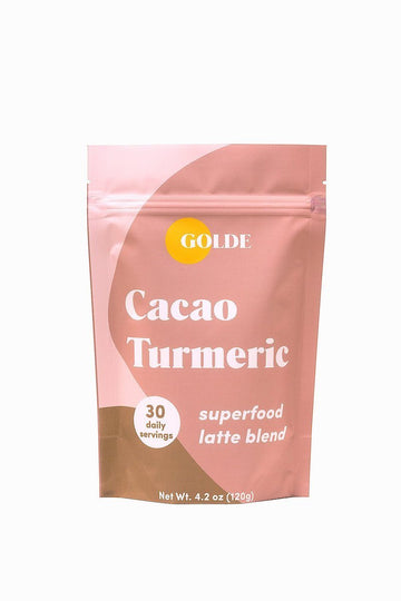 Golde Cacao Turmeric Superfood Latte Blend Default Mulberry & Grand Default