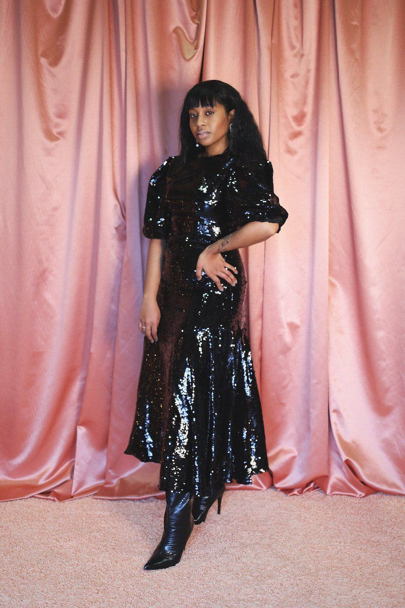 Guest List Sequin Midi Dress Clothing Sister Jane