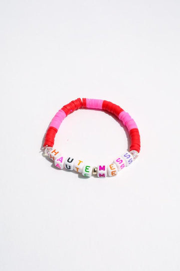 Haute Mess Inspirational Beaded Bracelet