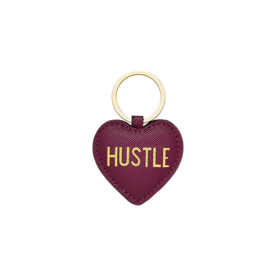 Hustle Heart Keychain, Key Chain - Mulberry & Grand
