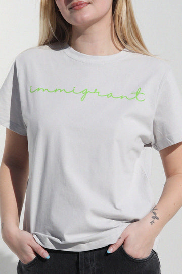 Immigrant Graphic Tshirt t-shirt Mulberry & Grand