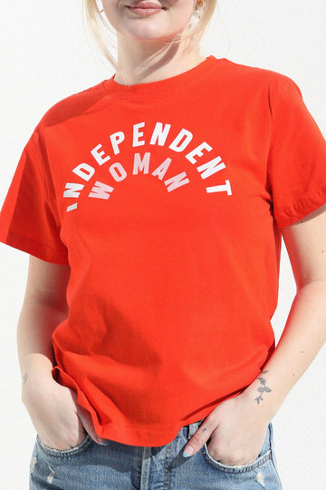 Independent Woman Tshirt t-shirt Mulberry & Grand