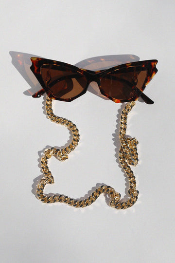Large Chain Link Sunglass/Mask Chain Face Masks Mulberry & Grand