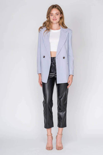 Lilac Blazer Clothing Fore Collection S