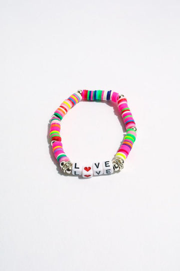 Love Inspirational Beaded Bracelet