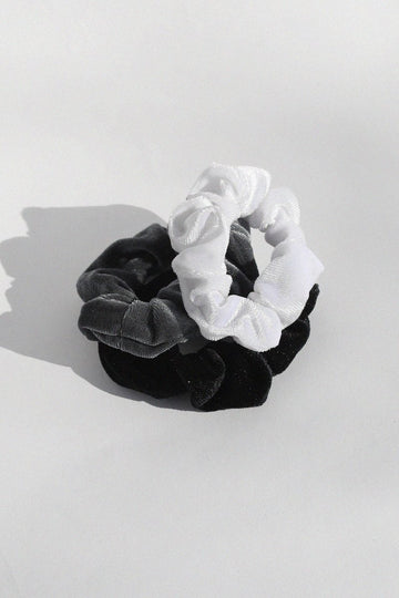 Luxe Velvet Scrunchies Set Hair Accessory Mulberry & Grand