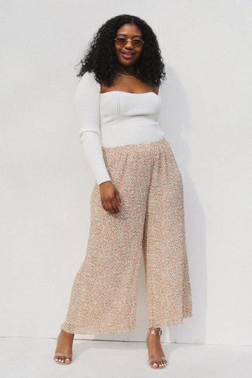 Lydia Culottes Clothing Mink Pink
