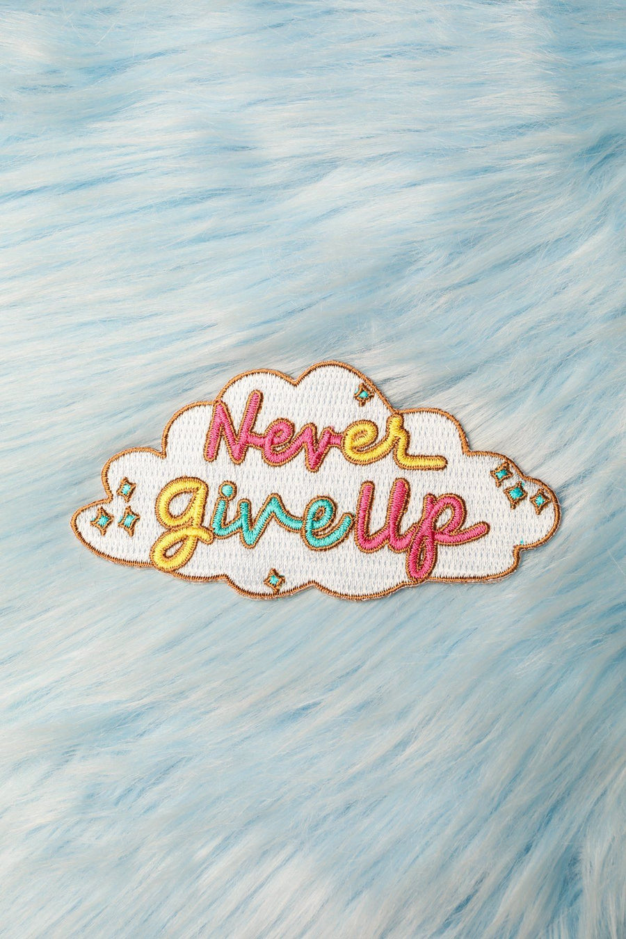 Never give up Patch Patch Mulberry & Grand