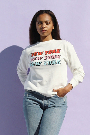New York Repeat Sweatshirt Clothing Mulberry & Grand