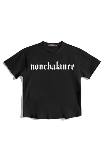 Nonchalance Graphic Tshirt t-shirt Mulberry & Grand S Black