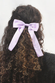 Oversized Satin Bow