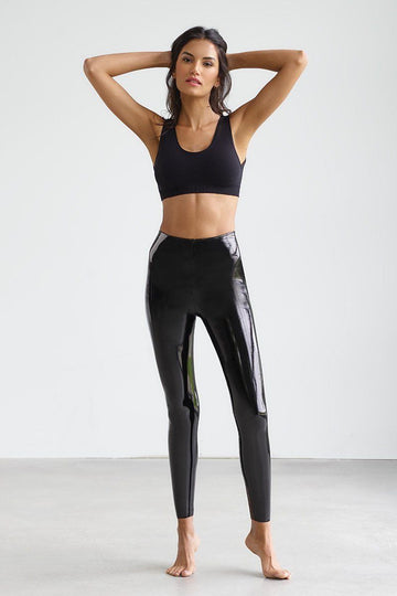 Patent Leather Leggings Clothing Commando XS
