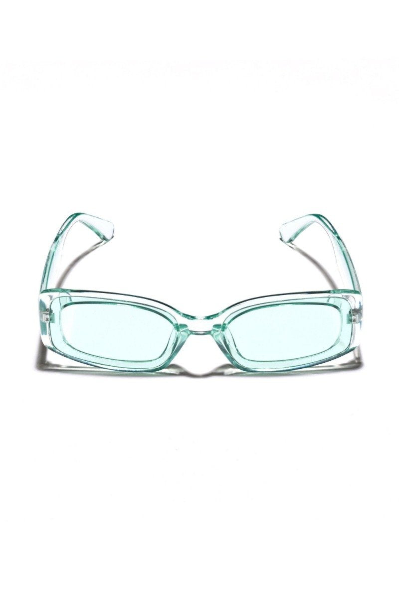 Poolside Sunglasses in Mint by Mulberry and Grand