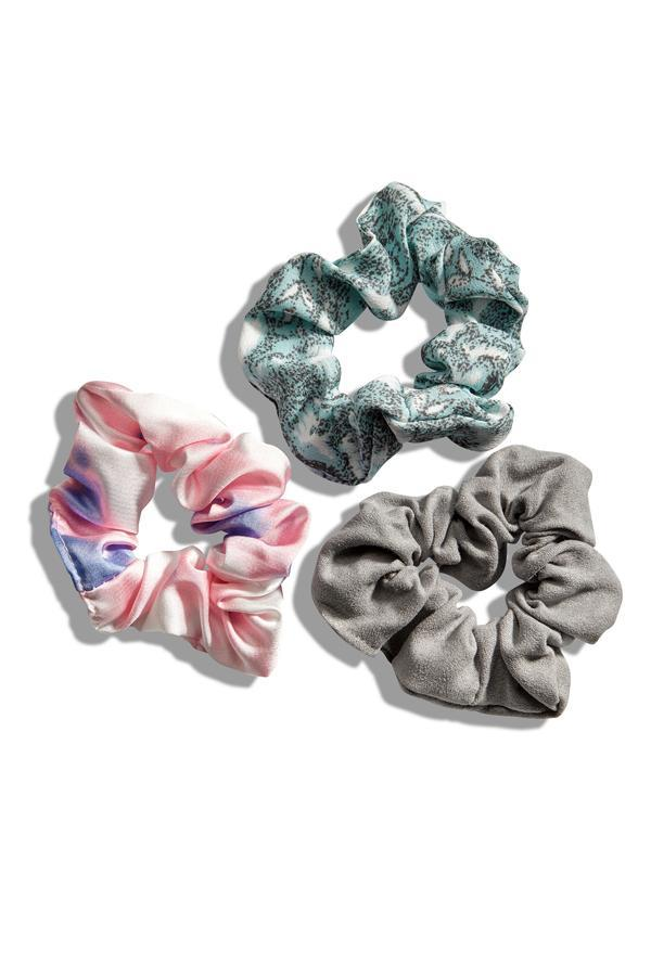 Printed Scrunchie Set