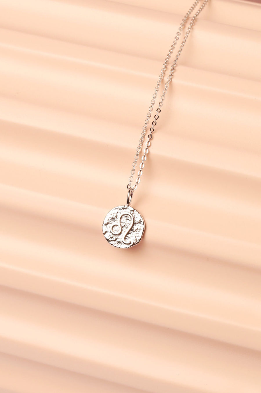 Silver Zodiac Charm Necklace Necklace Mulberry & Grand Leo