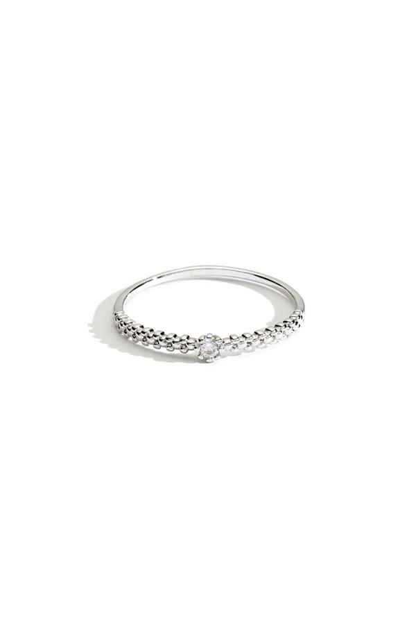 Small Crystal Stacking Ring