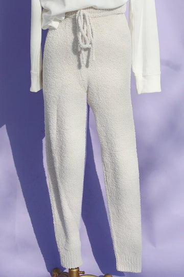 Teddy Lounge Pants Clothing Beige Botany