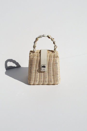 The Somerset Basket Top Handle Purse