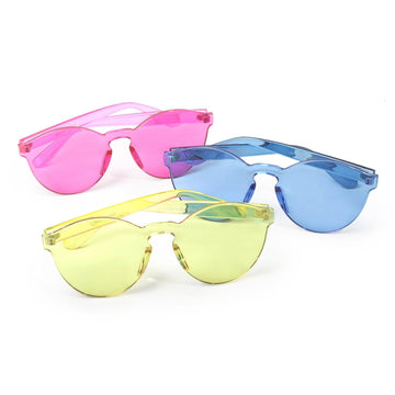 Veronica Clear Sunglasses