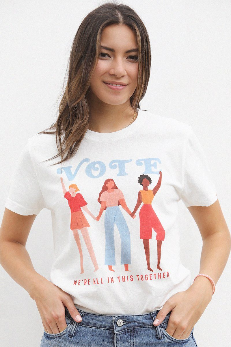 Vote We're All in This Together Graphic Tshirt