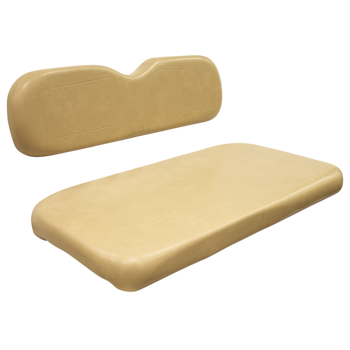 Wise Golf Cart Seating - EZGO EZ GO EZ-GO TXT Medalist Vac Form OEM Factory Style Seat - Conley Tan