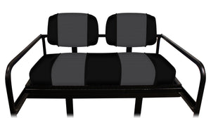 M&M Rear Seat Cover Set: Designer Sewn