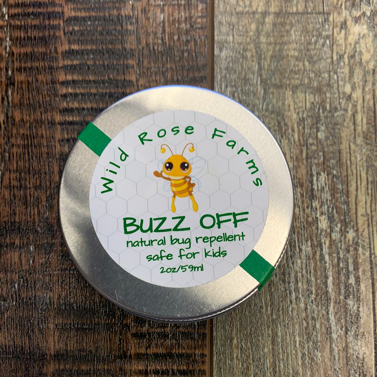 Buzz off- natural bug repellent