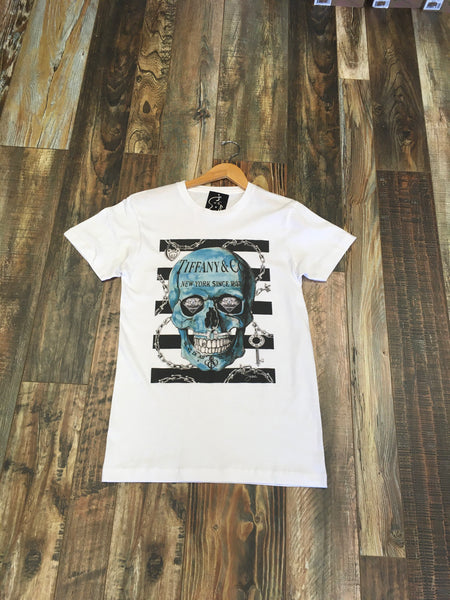 Couture Influenced Skull Tees