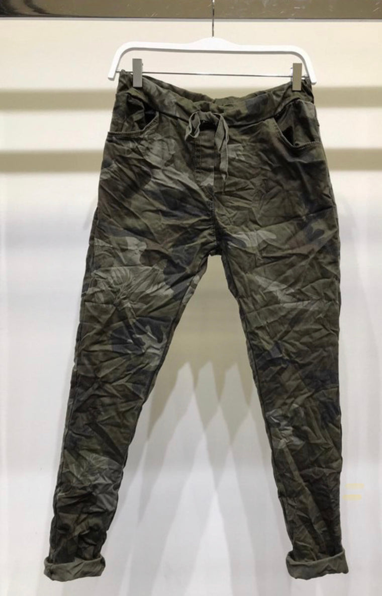 Camo Stretch Pants