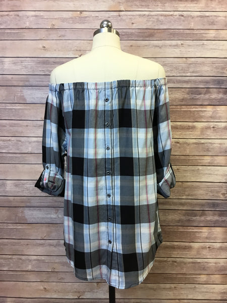 OTS Top Holiday Plaid