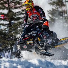 Flex-Tec Handguard Kit with standard mounts for Ski-Doo