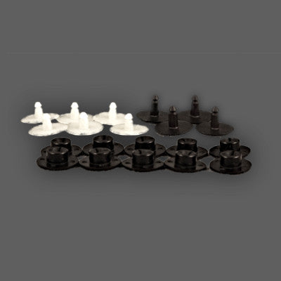 Handguard Flare Rivet Set for PowerMadd Star Series Handguard Extensions