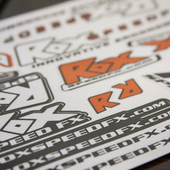 Rox Speed FX Vinyl Stickers