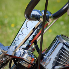 "Aviator Harley / V-Twin Straight Post Risers (4"", 6"", 8"")"