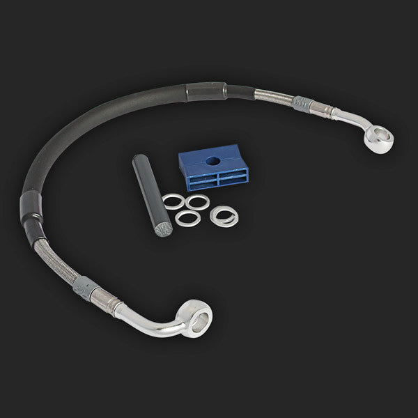 BMW F650/800GS Twin +2 inch Top Brake Line