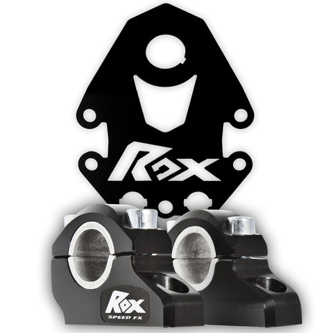 Honda 400EX/450R/250X/250EX Bar Riser & Dash Panel Kit