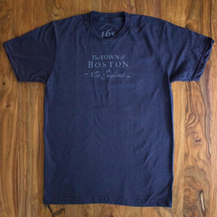 Town of Boston T-shirt (Navy)