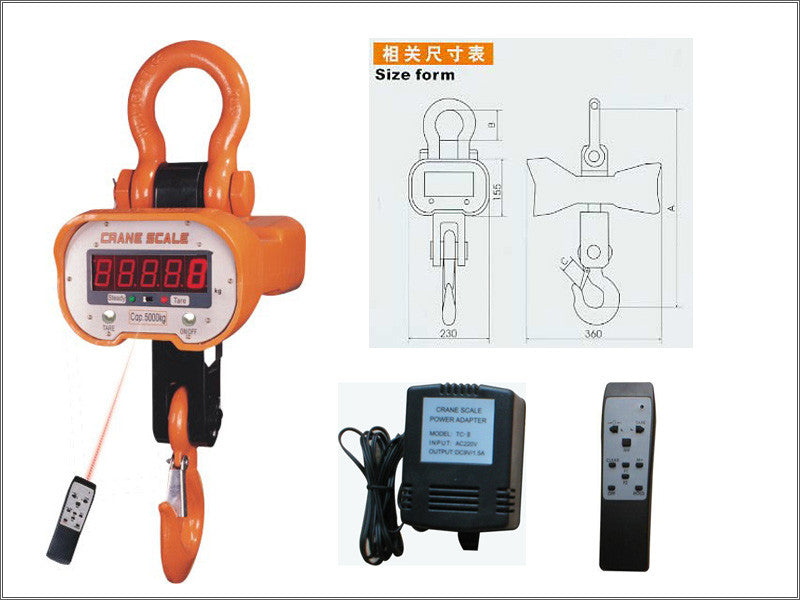 General Duty Crane Scale - Low Cost Scales