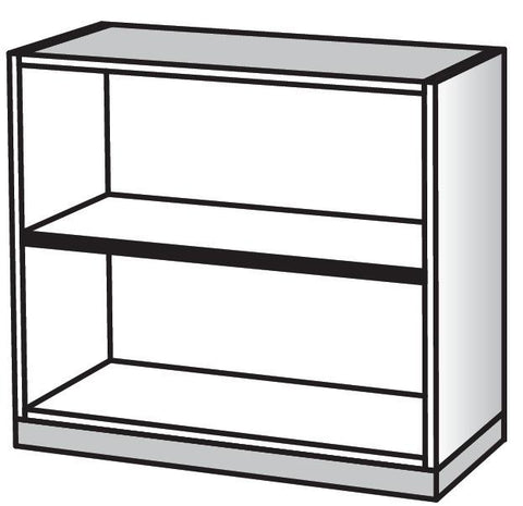 Napa 5 Shelf Bookcase 36 Quot W X 65 Quot H Costplus Medical Supply