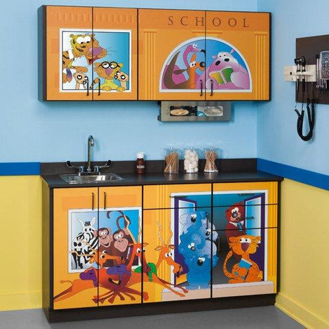 Exam Room Cabinets, Fun Series Pediatric CostPlus Medical Supply